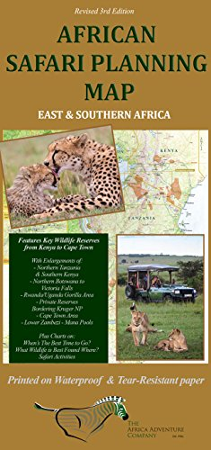 (African Safari Planning Map)
