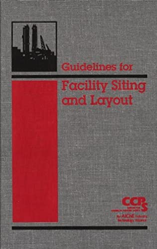 guidelines for facility siting and layout ccps center for chemical rh amazon com guidelines for facility siting and layout ccps guidelines for facility siting and layout ccps