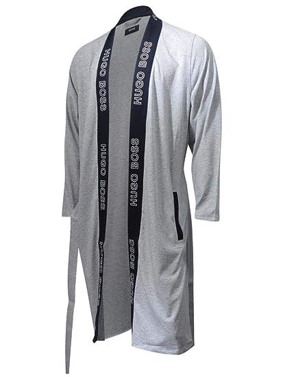 d1386e7bcd01 Amazon.com: Hugo Boss Men's Identity Kimono Cotton Dressing Gown Robe:  Clothing