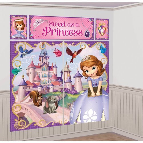 Sofia the First Scene Setter - Birthday and Theme Party -