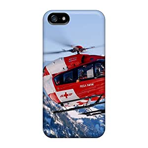 Durable Cases For The Iphone 5/5s- Eco-friendly Retail Packaging(rescue Chopper)