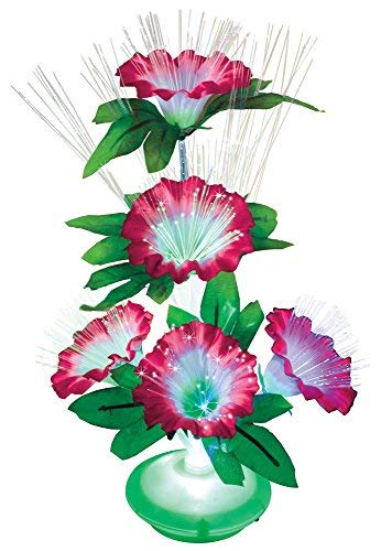 - The Paragon Fiber Optic Flowers - LED Color Changing Floral Arrangement