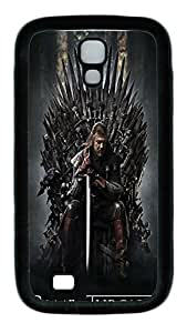 Samsung Galaxy S4 Case,Customize Ultra Slim Game Of Thrones Soft Rubber TPU Black Case Bumper Cover for S4