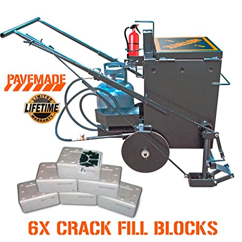 [PAVEMADE] HOTBOX 10 COMBO 6x blocks + mobile hot rubberized asphalt melter...