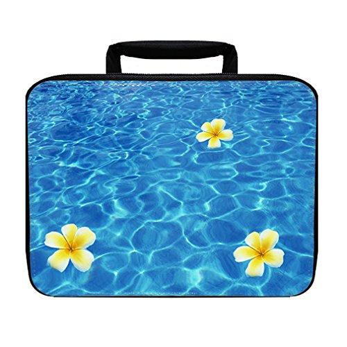 Style Plumeria Flower (Tropical Flower Plumeria Insulated Lunch Box Bag)
