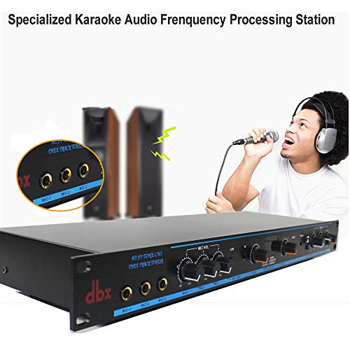 Karaoke Mixer, Audio Frenquency Processing Station,Audio Sound Processor,DSP-100 ()