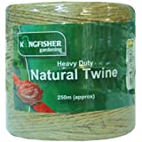TWINE, HEAVY DUTY NATURAL, 250M HDNT250 By KINGFISHER