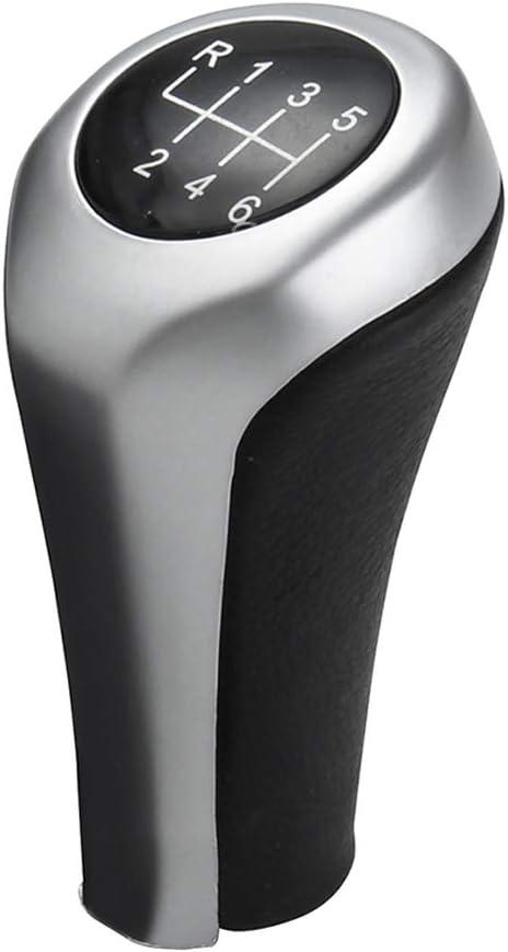 Schaltknauf BMW E90 E91 E92 X1 X3 25117566267 Kunststoff 6-Gang-Schalthebel mit Schalthebel Ersatz f/ür Knopf