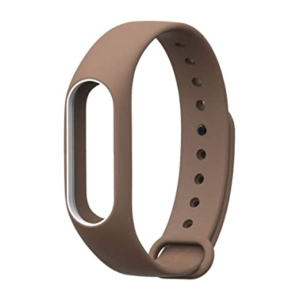 Pulsera para Xiaomi 2, Modaworld Reemplazo de Pulsera de muñequera de Correa de Silicona para XIAOMI MI Band 2 Correa de Reloj Elegante Pulsera de ...