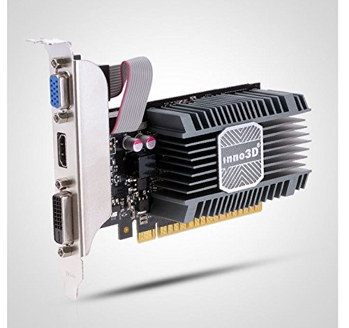 Inno3D NVIDIA GeForce GT730 LowProfile Edition D5 1GB Silent HDMI 4K UHD Graphic Card