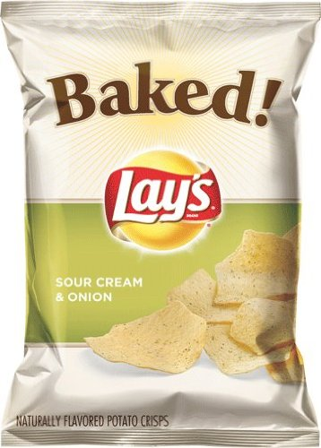 Frito Lay Baked Lay's Sour Cream and Onion Potato Chips, ...