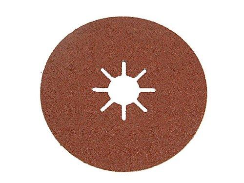 yeso 5 Discos de lija base fibra /ø 115x22 mm Madera Larga Duraci/ón. metal y pl/ástico Grano 40 Black+Decker X32155-XJ