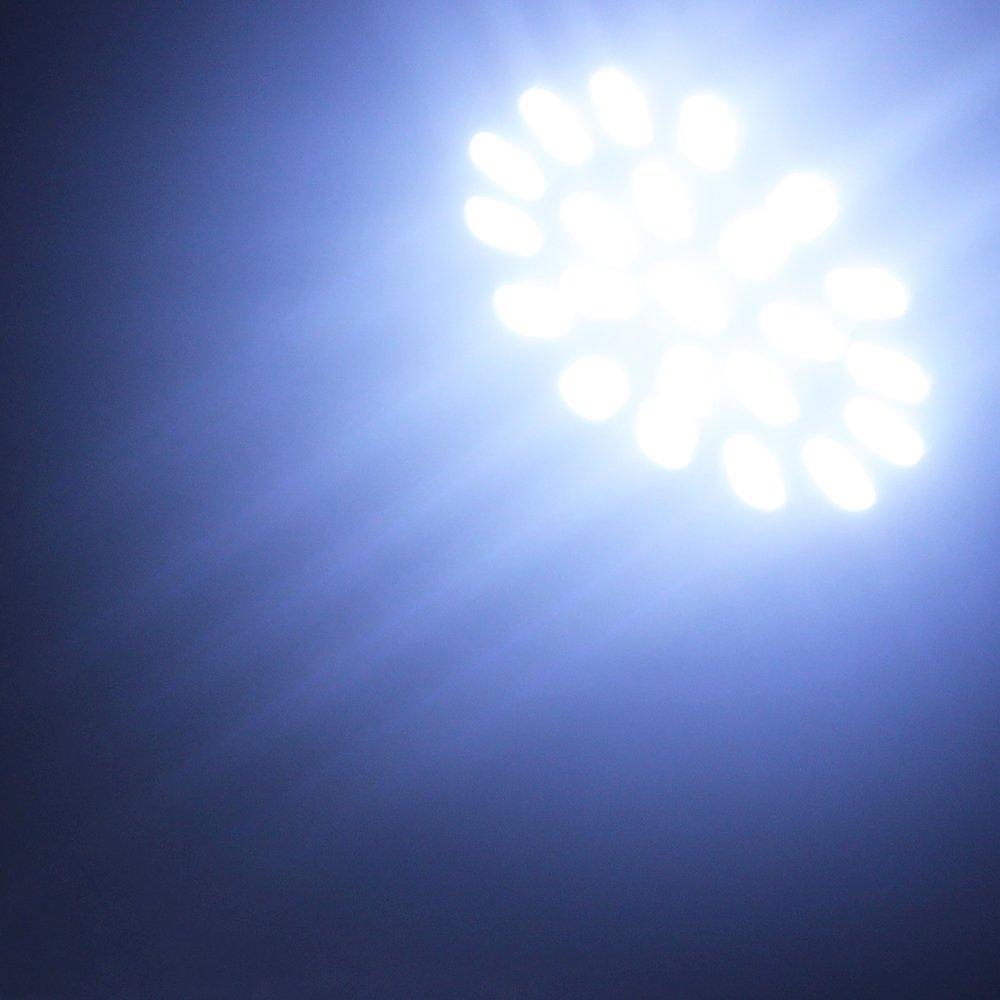 EverBright 10-Pack Cool White T25 3156 1206 22SMD Led Exterior Light Lamp For Car Turn Signal Light Bulbs DC 12V