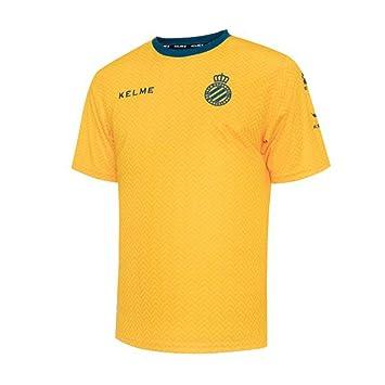 KELME RCD Espanyol Training 2018-2019, Camiseta, Amarillo, Talla XXL