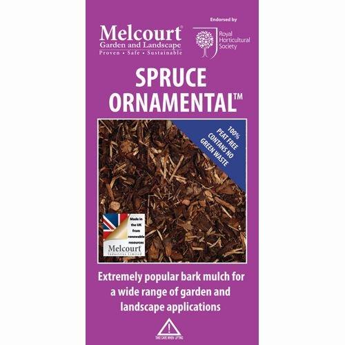 Melcourt Spruce Landscaping Ornamental Bark Mulch 60L