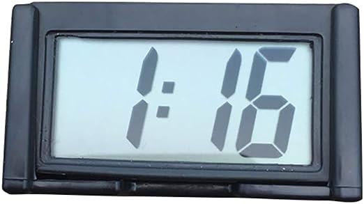Digital LCD Car Dashboard Desk Date Time Calendar Clock