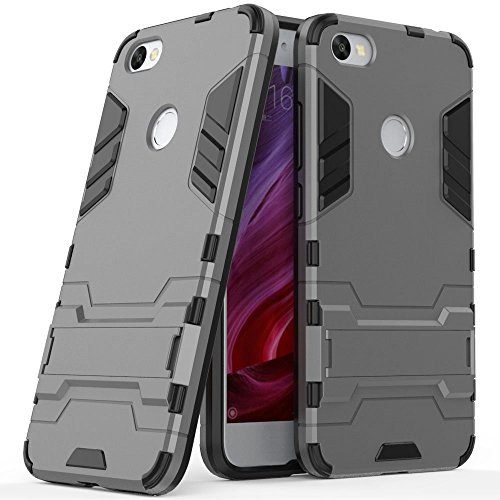 Funda para Xiaomi Redmi Note 5A (5,5 Pulgadas) 2 en 1 Híbrida Rugged Armor Case Choque Absorción Protección Dual Layer...
