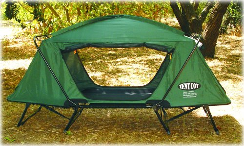 Amazon.com K&-Rite Tent Cot Oversize Tent Cot (Green) Sports u0026 Outdoors & Amazon.com: Kamp-Rite Tent Cot Oversize Tent Cot (Green): Sports ...