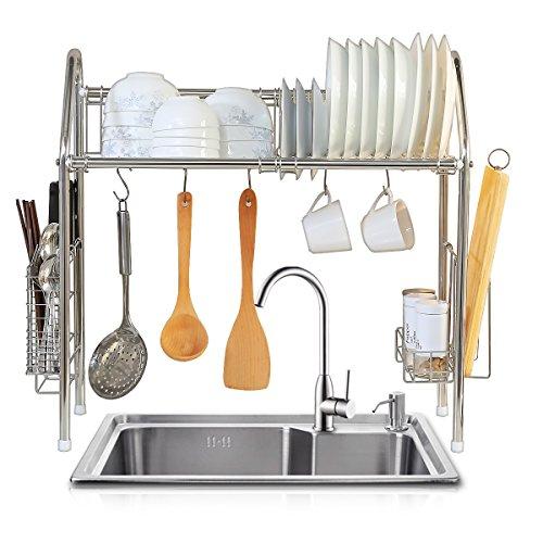 1208S Over Sink Drying Rack Dish rack Over Sink Shelf Dish