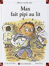 Max fait pipi au lit par Dominique de Saint-Mars