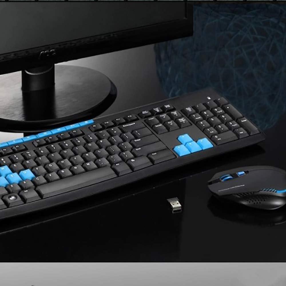 2019 OSCAR BATES HK3800 Multimedia Wireless Mouse and Keyboard Set Smart Power Saving Wireless Keyboard Set