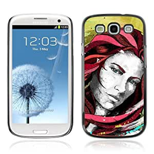 YOYOSHOP [Beautiful Girl Illustration] Samsung Galaxy S3 Case