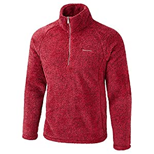 Craghoppers Mens Milton Half Zip Fluffy Warm Winter Jumper Fleece ...