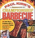 Paul Kirk's Championship Barbecue, Paul Kirk, 1558322418