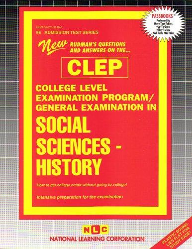 CLEP Social Sciences & History (College-Level Examination Program)