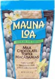 Mauna Loa Milk Chocolate with Toffee and Macadamias, 11-Ounce Bags (Pack of 12)
