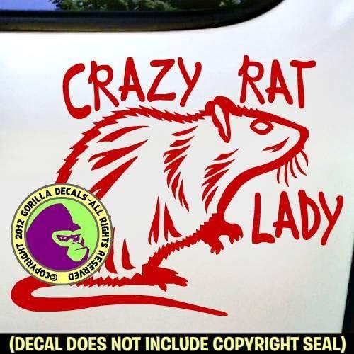 Rat Rats Pet Graphic Decal Sticker Car Vinyl