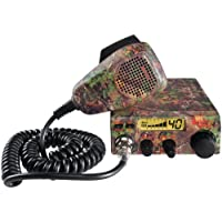 1 - 19 DX IV CB Radio with Realtree(R) Xtra Camo, Realtree(R) Xtra Mini pattern design, RF gain to enhance received signals, 19 DX CAMO
