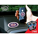 Fan Mats Washington Nationals Get-A-Grips White/Blue/Red SMALL 1.5 / LARGE 3 SET (2 PACK)