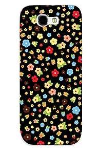 Fashion HfVEcvQ1588zbBTx Case Cover Series For Galaxy Note 2(multicolored Daisy Pattern)