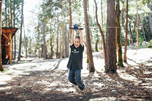 200' CHETCO Zip LINE KIT + Child Harness KIT by Zip Line Gear (Image #1)