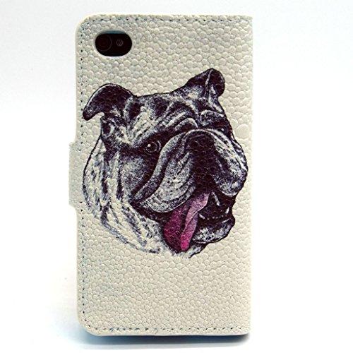 2015New Fashion Étui portefeuille pour Apple iPhone 5S, yaobai élégant [Fleur] magnétique en cuir PU Portefeuille avec fermeture [] Etui folio avec Support pour Sport Extérieur Coque de protection d'