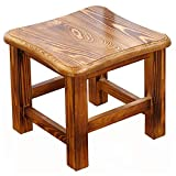 Stool - Shoe Bench, Household Solid Wood Coffee Table Stool, Small Square Stool