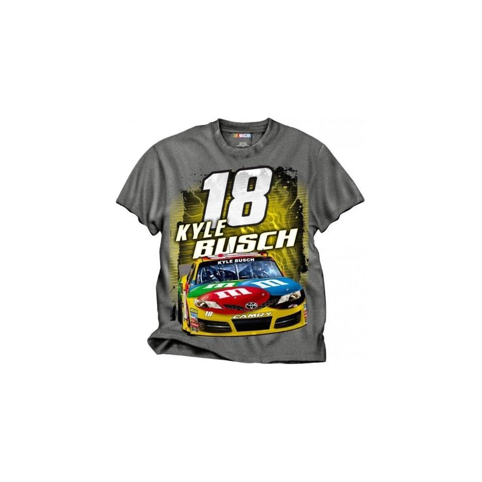 M & M Kyle Busch Nascar T Shirt [Apparel]