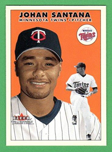 Johan Santana 2000 Fleer Tradition Update Rookie Card **Near-Mint** (Twins) (Mets)