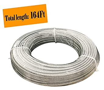 Muzata Vinyl Coated Aircraft Cable, galvanized wire rope aircraft ...
