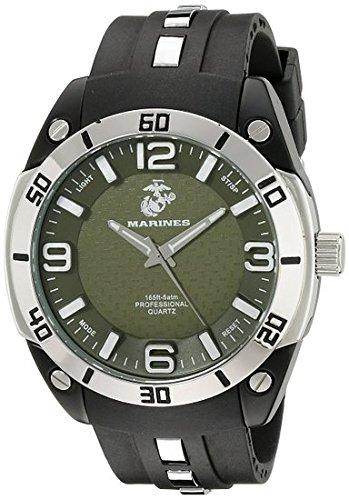 Men's U.S. Marine Corps C36 Watch by Wrist Armor, Green C...