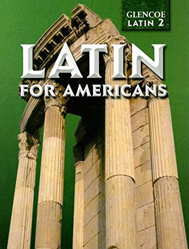 Read Online Latin for Americans (Glencoe Latin 2) pdf