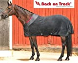 Back on Track Therapeutic Fleece Blanket 84 Black