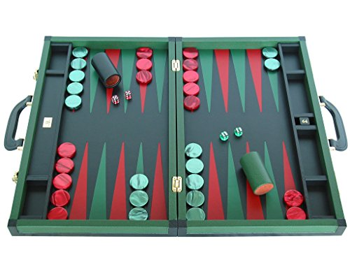 Leather Backgammon Board Set - (23