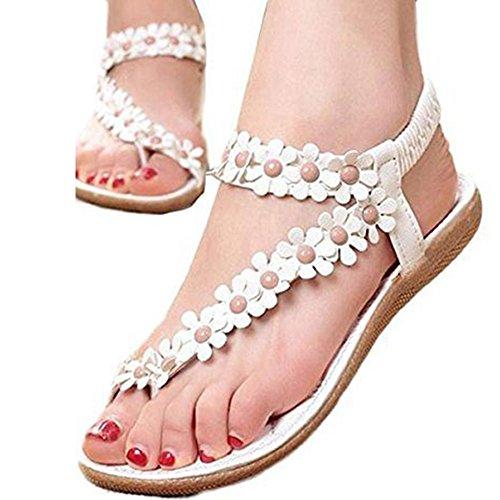 Wensltd Bohemia Flip flop Sandals Crystal product image