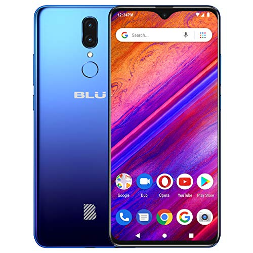 [해외]BLU G9 ? 6.3 HD 인피니티 디스플레이 스마트폰 64GB+4GB RAM -블루 / BLU G9 - 6.3 HD Infinity Display Smartphone, 64GB+4GB RAM -Blue