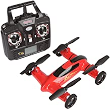 Syma X9RC Control remoto 2.4GHz 4canales giroscopio de 6ejes coche volador drone con batería, rojo.