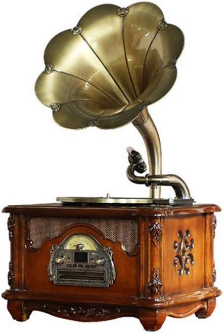 Gramófono, Tocadiscos Reproductor De Discos De Vinilo Altavoces ...