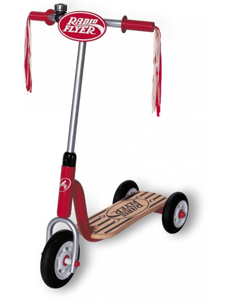 Radio Flyer Little Red - Metal Roller - Patinete con ...