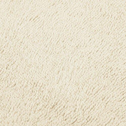 Pinzon Blended Egyptian Cotton 6-Piece Towel Set, Cream